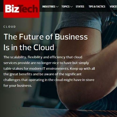 Biz Tech Magazine (Topic Landing Pages)