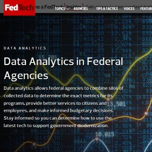 FedTech Magazine (Topic Landing Pages)