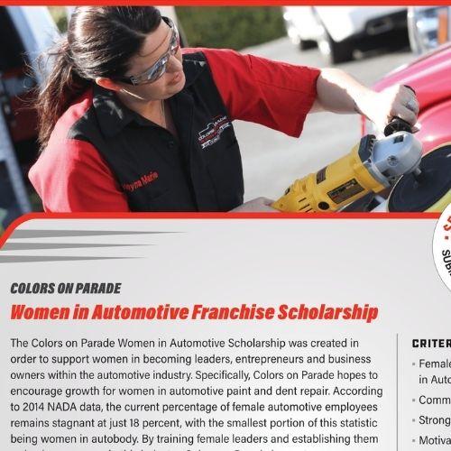 Women in Automotive Scholarship (Flyer)